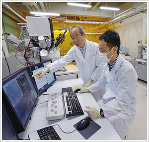 『ナノテクノロジー人材の育成、産業利用を対象としたトライアルユース』の画像