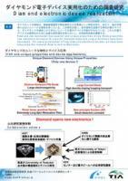 『ダイヤモンド電子デバイス実用化のための調査研究(2017.2.15)』の画像
