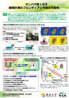 『タンパク質1分子 -動態計測のフロンティアと今後の可能性-(2016.10.11)』の画像