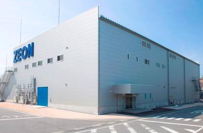 スーパーグロース法カーボンナノチューブ工場(日本ゼオン徳山工場)
