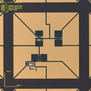 MEMS 3 axis sensor